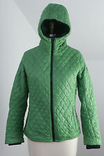 TIMBERLAND Womens Green Quilted Puff Light Packable Jacket Coat Hood Small S