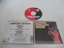 ESTHER PHILIPS/CONFESSIN' THE BLUES(SEQUEL RSACD 807) CD ALBUM
