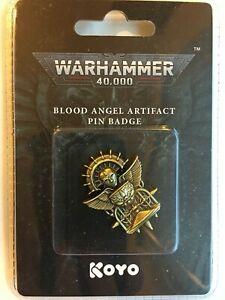 WARHAMMER WORLD EXCLUSIVE Warhammer Space Marine Blood Angels Artifact Pin Badge