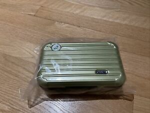RIMOWA Iconic Hard Case Toiletry Bag From Eva Air Royal Laurel Amenity Kit Green