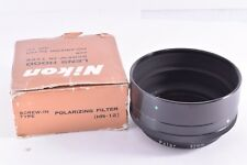 Nikon HN-12 Screw in Lens Hood with POLARIZING FILTER 52mm