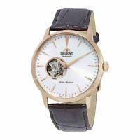 Orient Open Heart Automatic White Dial Men's Watch FAG02002W0