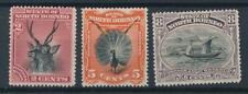 [54523] North Borneo 1894 lot 3 good MH Very Fine stamps