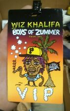 FALL OUT BOY Boys of Zummer Tour VIP 2015 Wiz Khalifa ticket and lanyard