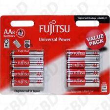 FUJITSU LR6FU 1.5V Universal Power LR6 AA alkaline battery 8PK