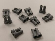 Bulk Lot Lego Part No.30162: Dark Bluish Grey Minifigure, Binoculars, Qty x 10