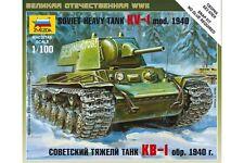ZVEZDA 6141 1/100 Soviet heavy tank KV-1