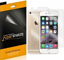 6Pcs Supershieldz Front & Back Anti Glare (Matte) Screen Protector For iPhone 6S