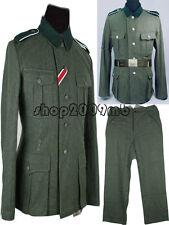 Collectable WW2 German Elite Army Soldier M36 wool Uniform Jacket&Pants M Size