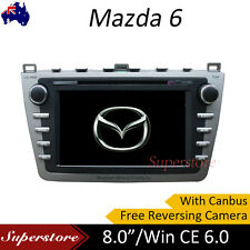 Mazda 6 8 inch Car DVD Player With Canbus Free Camera Win CE 6.0