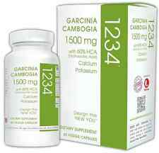 CREATIVE BIOSCIENCE GARCINIA CAMBOGIA1234 1500mg VEGCAP FACTORY SEALED EXP.3/20