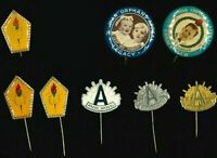 Australian Vintage SET of 8x Commemorative ANZAC Badge Pins - Legacy Appeals