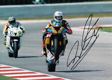 David Salom Hand Signed Kawasaki 7x5 Photo WSBK 4.