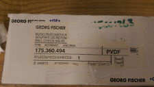 New listing Gf Type 360 Ball Check Valve 32mm, Pvdf/Fpm Butt Fusion True Union P/N 175360494