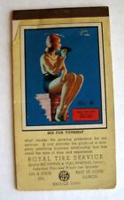 March 1946 Earl Moran Pin Up Notepad