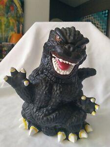 Godzilla Coin Bank. 9 inches high.