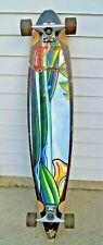 """Vintage 1990s Sector 9 Longboard Skateboard - Gullwing Mission 1 Trucks - 47"""""""