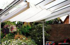 Bausatz für Sonnensegel in Seilspanntechnik Pergola 4 Winkel 14 m Edelstahlseil