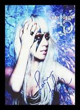 LADY GAGA AUTOGRAPHED SIGNED & FRAMED PP POSTER PHOTO
