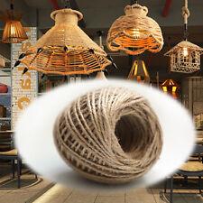 50M Natural Jute Hemp Rope Twine String Cord Shank Craft String DIY Making