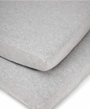Mamas & Papas - Cotbed Fitted Sheets (pack of 2) - Grey Marl