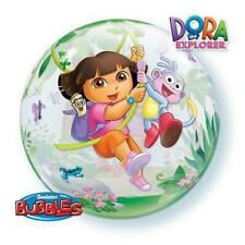 Dora the Explorer Birthday Bubble Foil Balloon 22""
