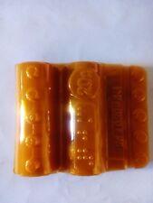 15 blisters para monedas de 0,20 centimo blister moneda color naranja