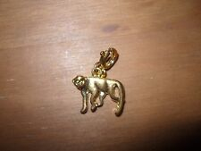 Gold coloured charm (animal)