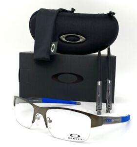 Oakley Crosslink 0.5 OX3226-0255 Pewter / Demo Lens 55mm Eyeglasses