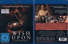 WISH UPON --- Blu-ray --- Horrorthriller --- Joey King --- Uncut ---