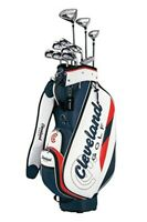 Cleveland Golf Club Set Cleveland Package with 11 Clubs Caddy Bag Right Flex: R
