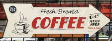 COFFEE SHOP ARROW  SIGN