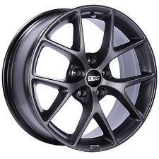 BBS SR 18x8 5x130 ET50 CB71.6 Satin Grey Wheel