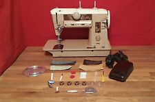 VINTAGE SINGER 401J  HEAVY DUTY SEWING MACHINE for LEATHER & UPHOLSTERY