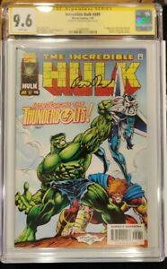 Incredible Hulk #449 CGC SS 9.6 First Appearance of Thunderbolts Peter David