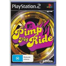 PLAYSTATION 2 PIMP MY RIDE PS2 PAL  [VG]