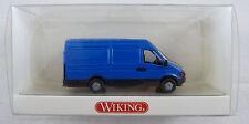 Iveco Daily Lieferwagen blau Wiking 2860127 1:87 H0 in OVP [FS]
