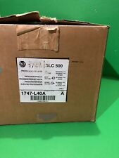 Allen Bradley 1747-L40A Series A SLC 500 Processor 1K DH-485 24-In/16-Out New