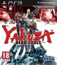 YAKUZA  DEAD SOULS VERSIONE ITALIANA (GIOCO INGLESE)  PRIMA STAMPA NUOVO!!  PS 3