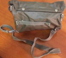 New Swiss Army SM-74 Gas Mask Bag Rubberized Hunting Gear Bugout Military Pack