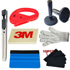 Car Wrapping Installation Tools 3M Vinyl Blue Squeegee Magnet Glove Cutter Knife