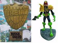 Judge Dredd Mike McMahon Artist Version Vinyl Statue 2000 AD Limited New Mint