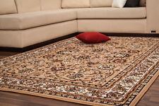 Klassisch Orientteppich Persia Teppich Flachflor Teppich Floral Beige 80x150