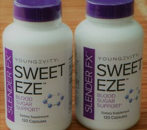 Youngevity Slender FX Sweet Eze 120 capsules 4 Pack Dr Wallach Free Shipping