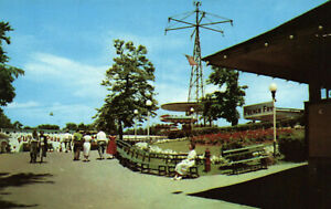 Idora Park, Youngstown, Ohio, Midway - Postcard (Y12)