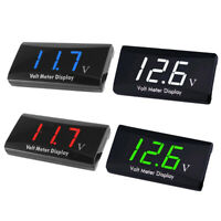 1x DC12V Digital LED Display Voltmeter Voltage Gauge Panel Meter Car Accessories