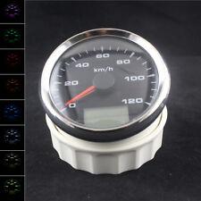 Waterproof Car Tractor UTV ATV 0-120 km/h GPS Speedometer Odo Mileage Gauge 85mm