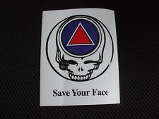 Save Your Face sober Aa / Na sticker