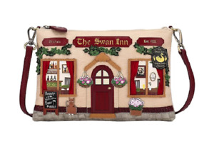 Borsa Clutch Bag The Swan Inn Pub ART.50432111 - Vendula London