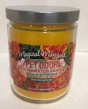 """Pet Odor Exterminator Candle """"Marigold"""" Pets House Smoke Remove Odor USA"""